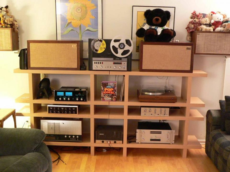 Kevin S Vintage Stereo System Stereophile. Living Room Stereo   Home Design