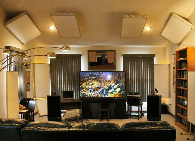 Realtraps for Living room acoustic treatment