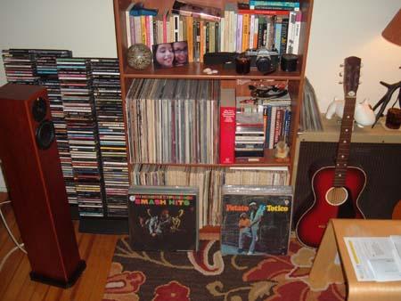 My Tall Bookshelf